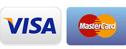 Credit Cards Accepted - Visa, Master Card, Discover & Amex