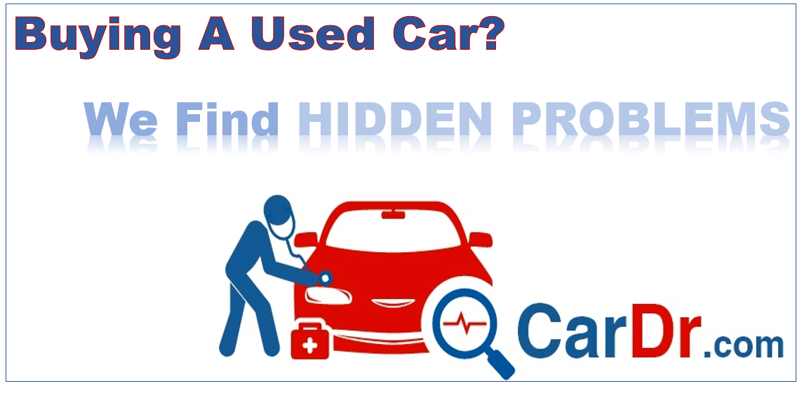 Buying a Used Car - we find hidden problems
