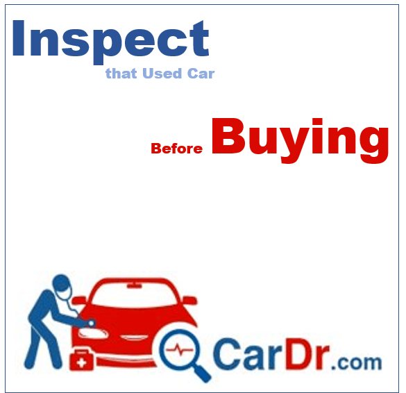 Inspect That Used Car Before Buying it
