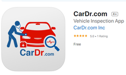 CarDr.com Vehicle Inspector IOS App for Apple Iphones