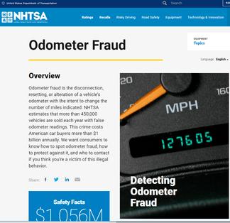 Odometer Fraud